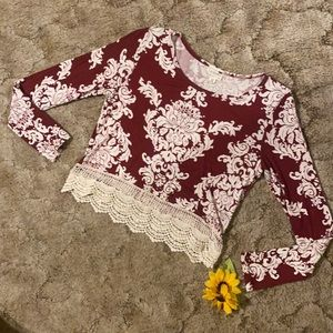 Crochet bottom top